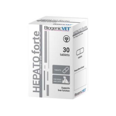 BiogenicVet Hepatoforte tabletta 30x