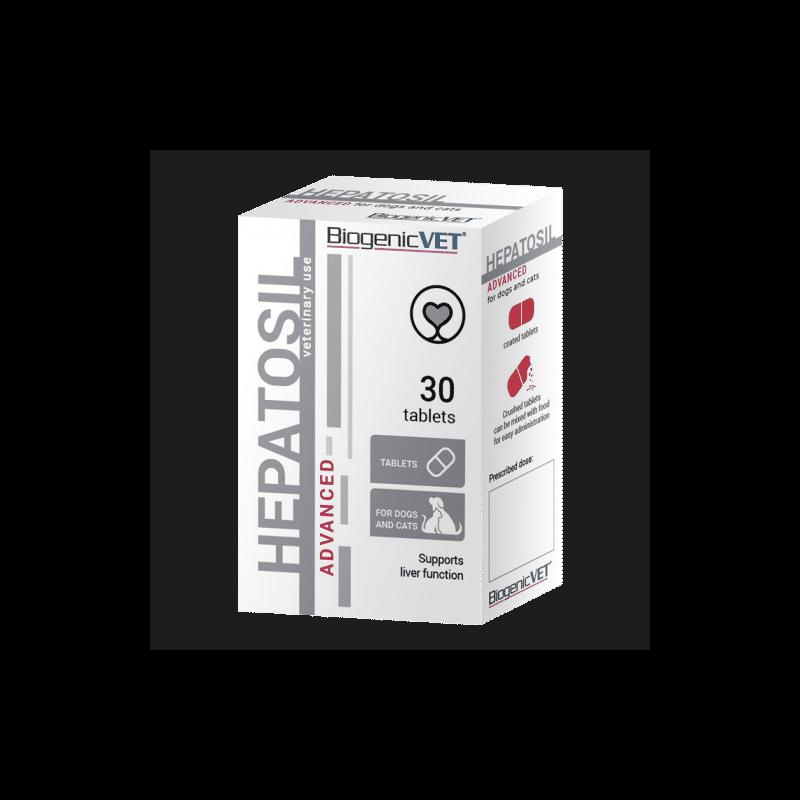 BiogenicVet Hepatosil Advanced tabletta 30x