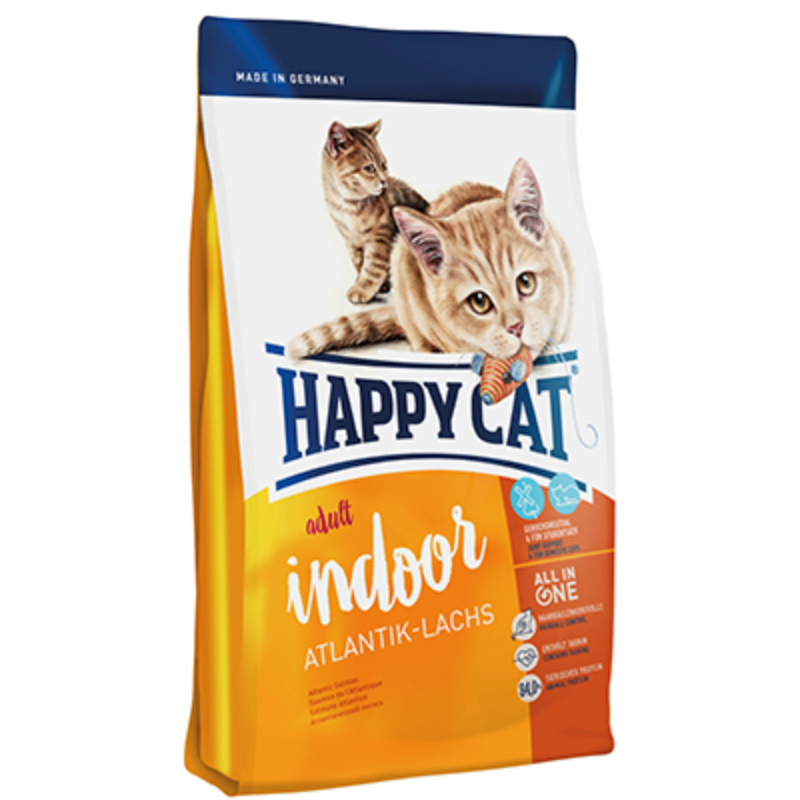 Happy Cat Supreme Adult Indoor - Lazac 300 g