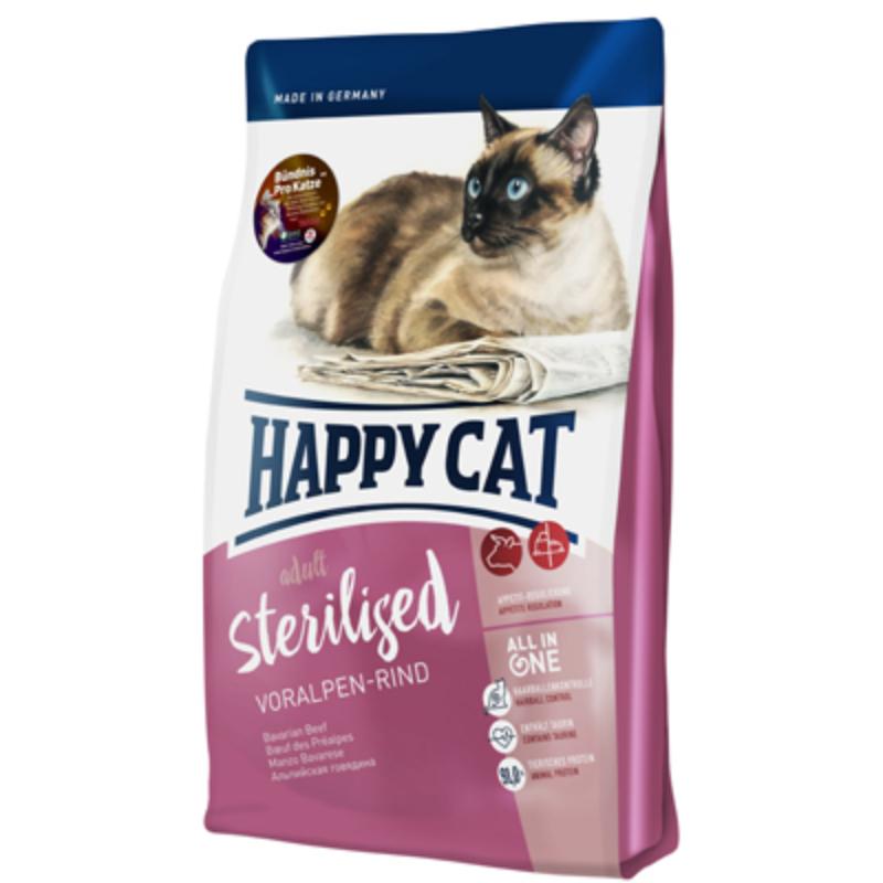 Happy Cat Supreme Adult Sterilised - Marha 300 g