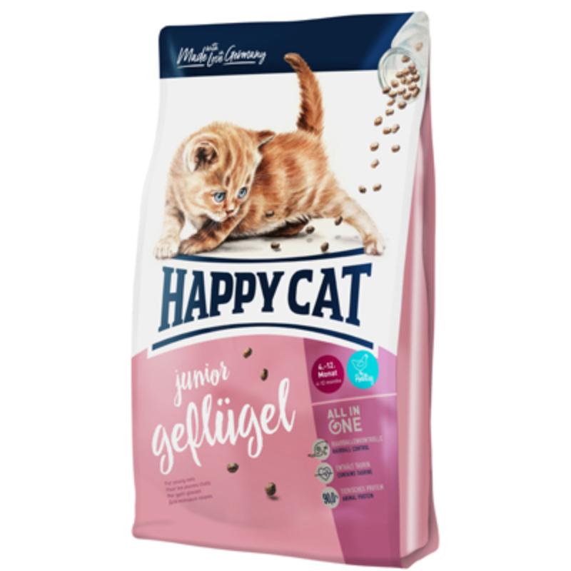 Happy Cat Supreme Junior - Szárnyas 300 g