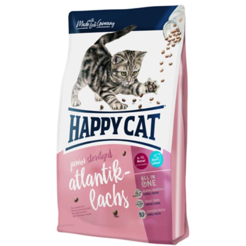 Happy Cat Supreme Junior Sterilised - Lazac 300 g