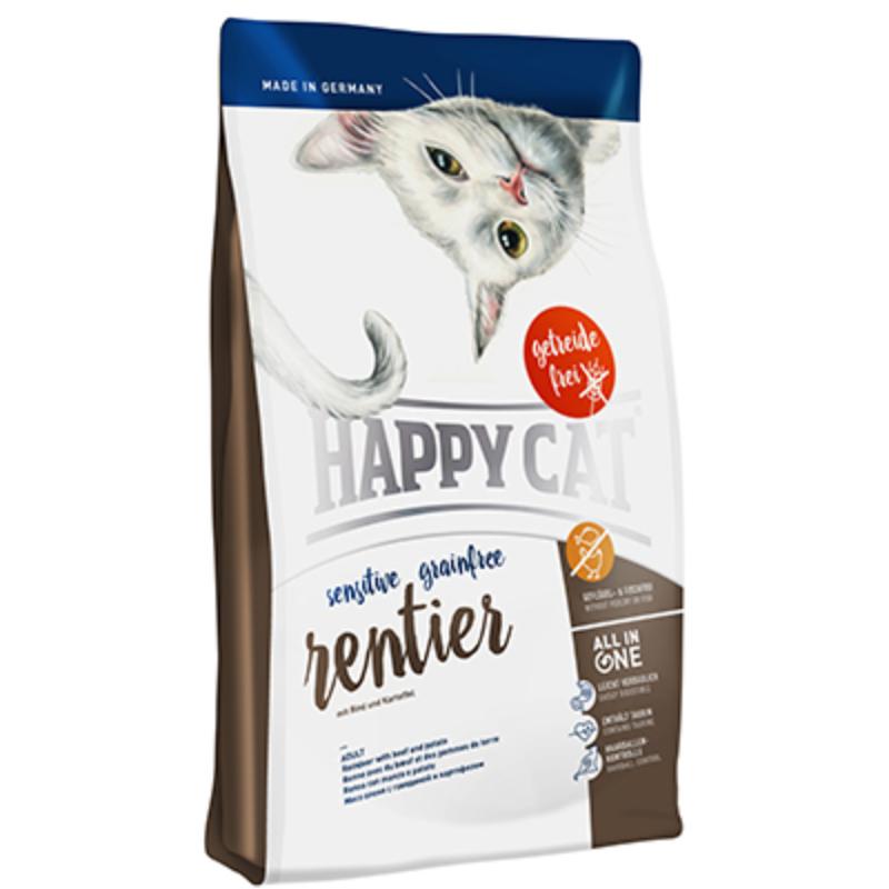 Happy Cat Supreme Sensitive - Gabonamentes, Rénszarvas 300 g