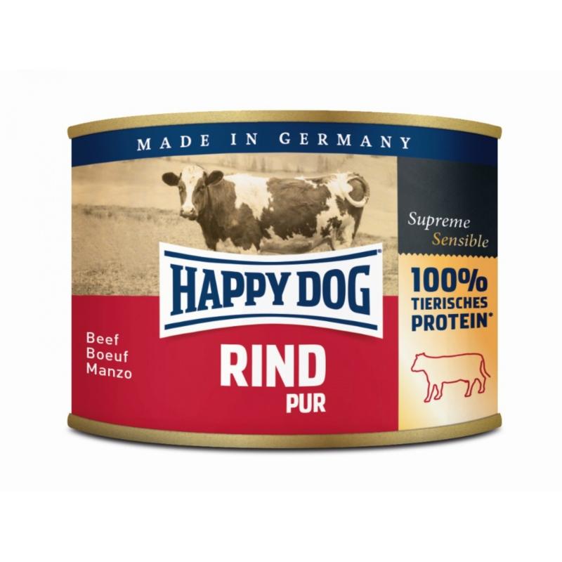 Happy Dog Sensible Rind Pur - Marha 200 g