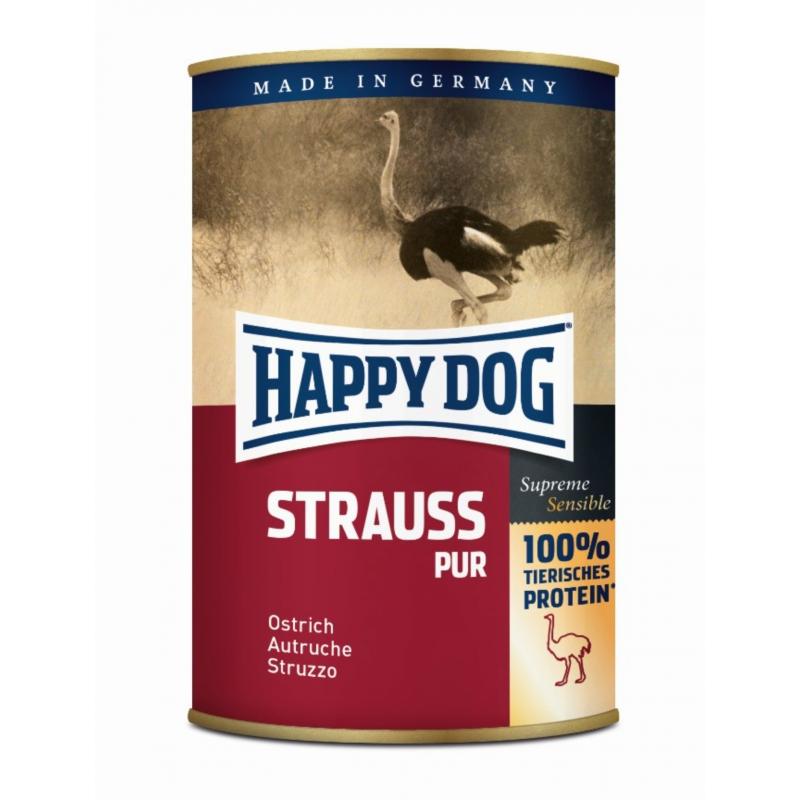 Happy Dog Sensible Strauß Pur - Strucc 400 g