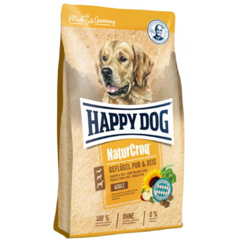 Happy Dog NaturCroq Geflügel & Reis 1 kg