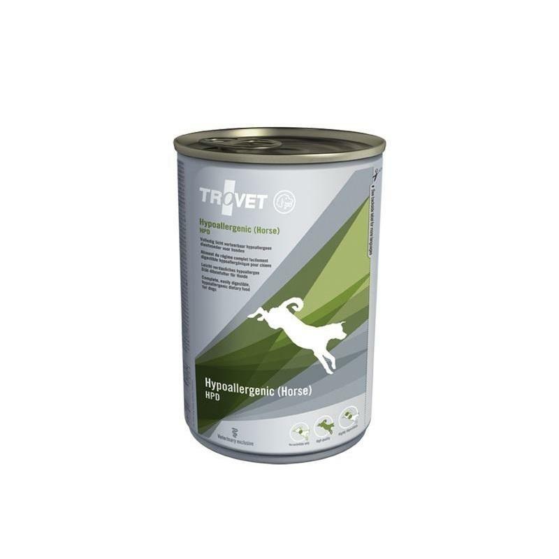 Trovet Dog Hypoallergenic Horse/HPD 400 g