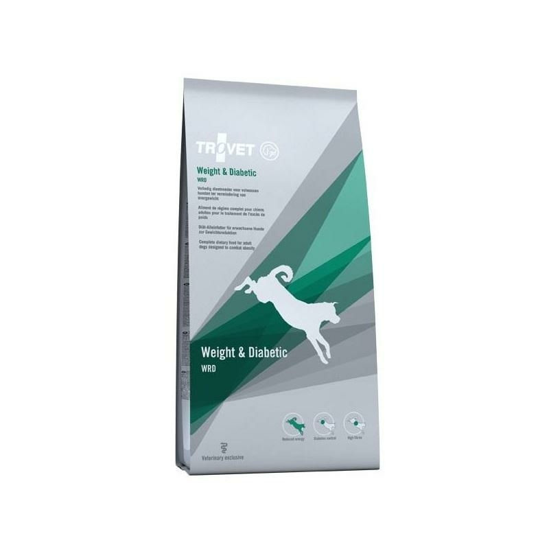 Trovet Dog Weight And Diabetic - WRD 3 kg