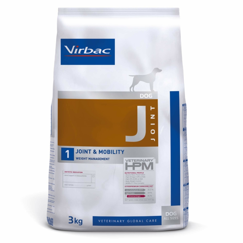 Virbac HPM Diet Dog Joint & Mobility 3 kg