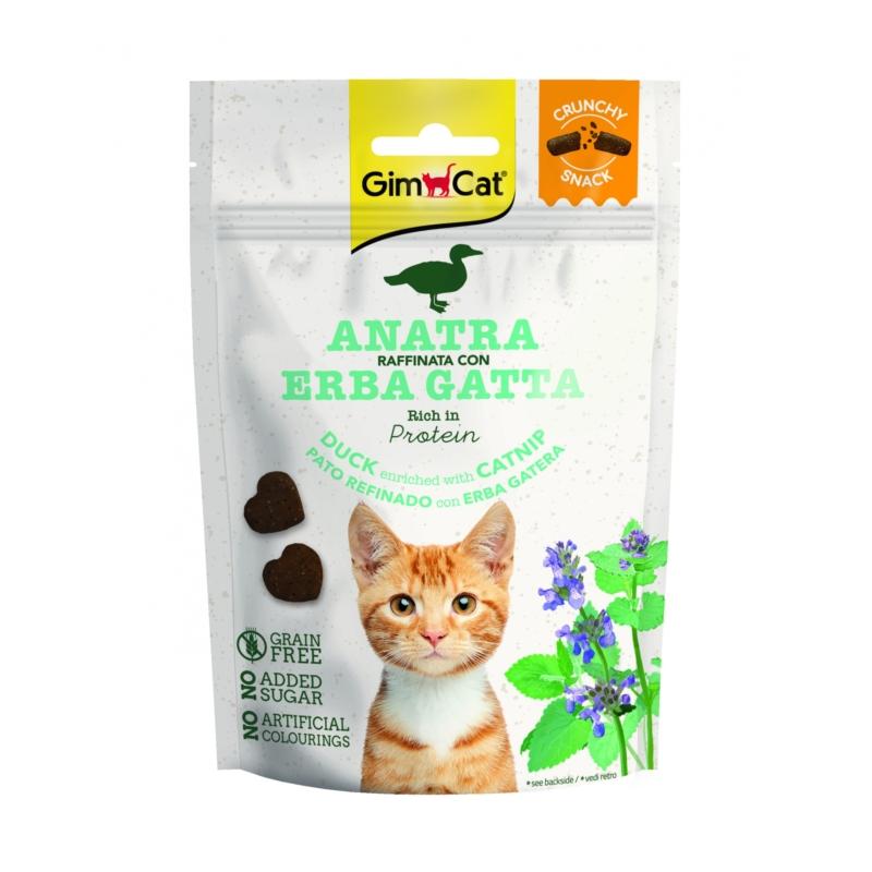 GimCat Snack Kacsa Macskamentával 50 g