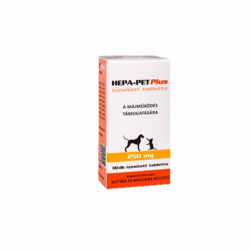 Hepa-Pet 250 mg tabletta 30 db