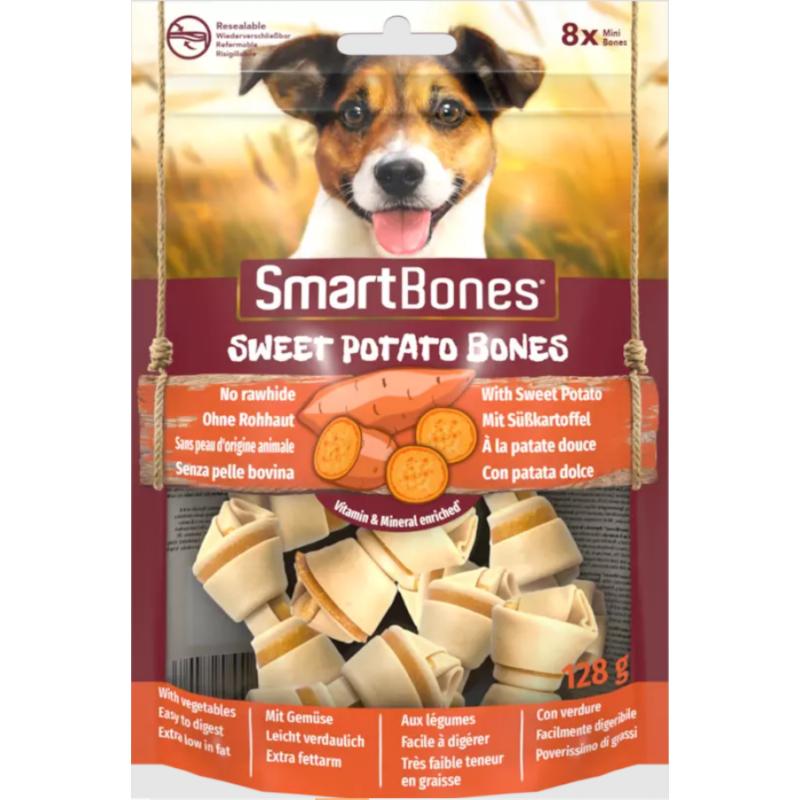 SmartBones Mini Édesburgonyás Csont 8db