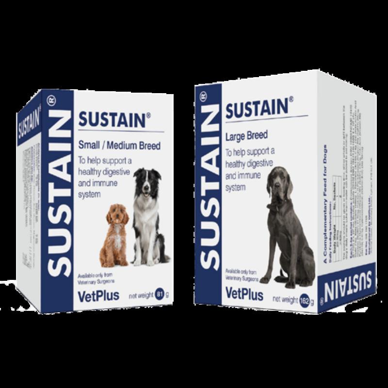 Sustain Small/Medium Breed 30 x 2,7 g