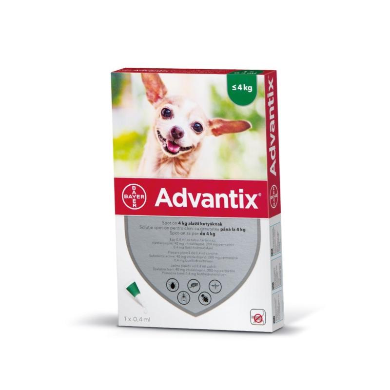 Advantix Spot-On 4 kg alatt 1x