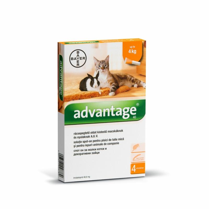 Advantage Spot On 1 x 0,4 ml