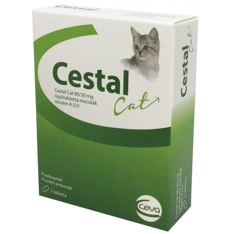 Cestal Cat tabletta 2x
