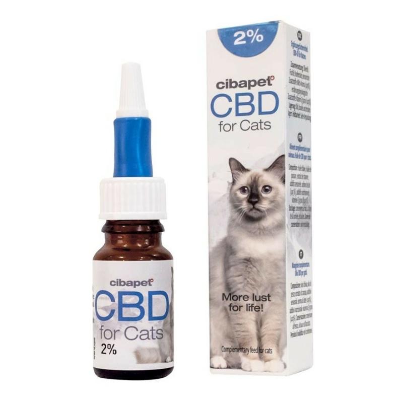 Cibapet CBD 2%-os Olaj Macskáknak 10 ml