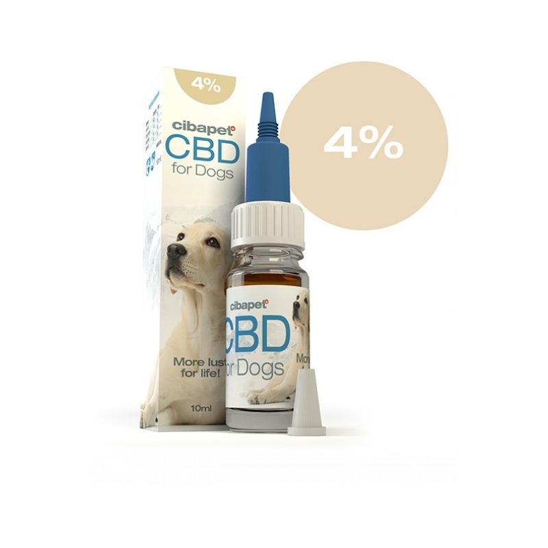 Cibapet CBD 4%-os Olaj Kutyáknak 10 ml
