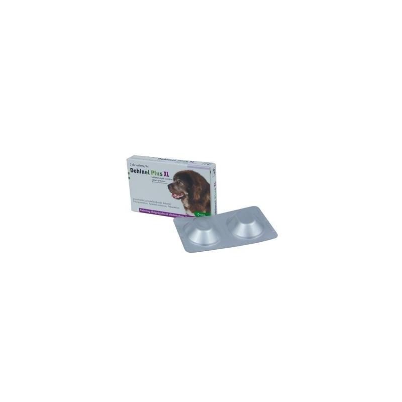 Dehinel Plus XL tabletta kutyáknak 2x