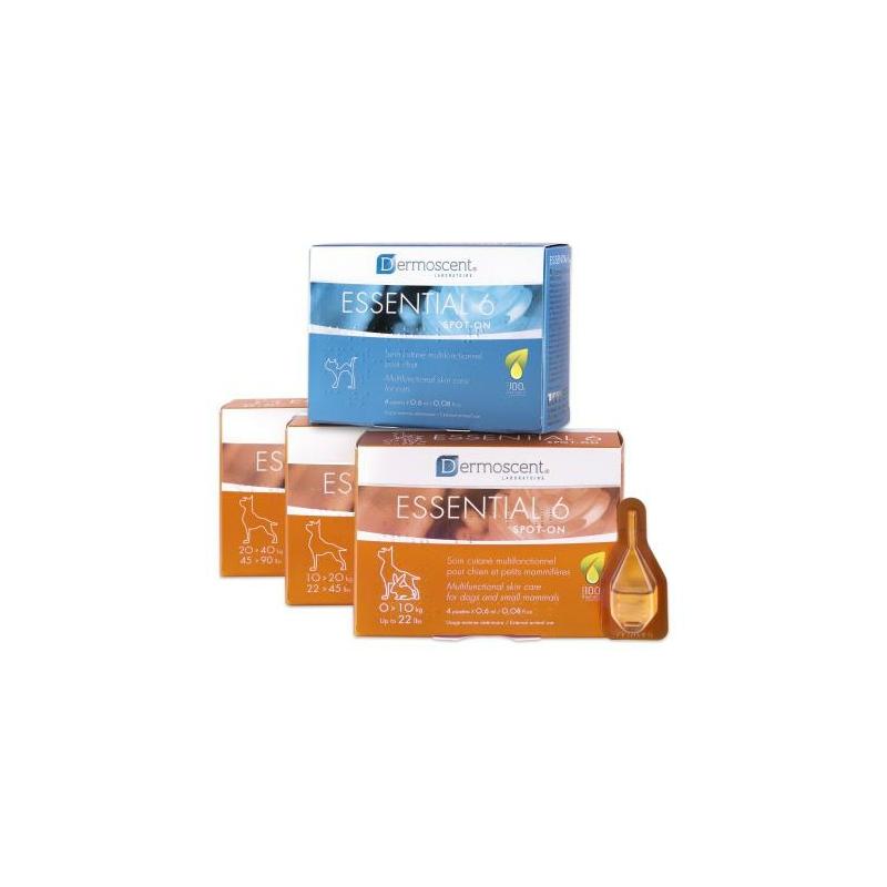 Dermoscent Essential6 Spot-On 1-10 kg (4 x 0,6 ml)