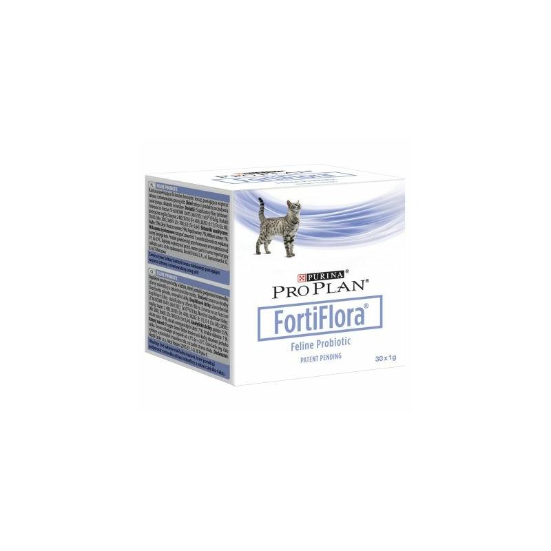 Purina Pro Plan Fortiflora macskák részére 30 x 1 g