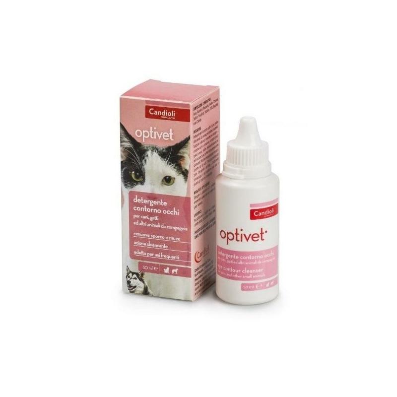 Optivet szemkörnyék tisztító oldat 50 ml